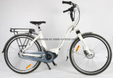 Bici híbrida 36V 250W de 26 señoras de la pulgada con el MEDIADOS DE motor impulsor