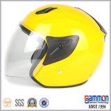De de verbazende Gele Open Motorfiets van het Gezicht/Helm van de Motor (OP226)