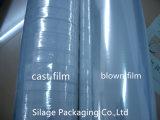 Pallet saltato LLDPE libero di qualità che sposta la pellicola di stirata della pellicola