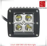 3 SUV車LEDのオフロードライトおよびLEDのドライビング・ライトのためのインチ16Wのクリー族LED作業ライトのLED車ライト