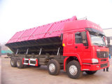 Sinotruk HOWO 371HP 8*4 40t Side Dumper pour Coal Transportation