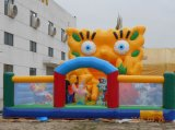 공장 Direct Supply Fwulong Custom 0.55mm PVC Tarpaulin Inflatable Jumping Bouncer