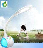 7W 530lm Rechargeable Battery LED Desk Lamp con Night Light e Mood Light