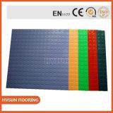 Roulis en caoutchouc de plancher de gymnastique de tache de qualité dans le plancher en caoutchouc et en plastique