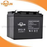 UPS를 위한 12V 38ah 태양 연산 축전지 및 태양계