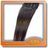 Unverarbeiteter Menschenhaar-Brasilianer Klipp-im Haar