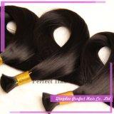 Estensione brasiliana dei capelli umani del Virgin alla rinfusa dei capelli di Remy del Virgin