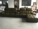 Sofà moderno, sofà sezionale, mobilia domestica, sofà di cuoio (A848)
