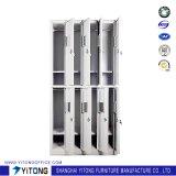 Armario vertical de la cabina de almacenaje del metal 8-Door de Yitong/del acero del uso de la oficina