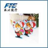Ambientador de aire del coche de Papá Noel del tema de la Navidad para el regalo de la promoción