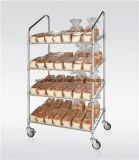 Justierbare Hochleistungshandelsmetalldraht-Brot-Zahnstange