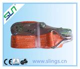 Correas del trinquete con el trinquete de aluminio y el Ce doble GS de la maneta de Sln del gancho de leva de J