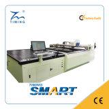 Máquina de estaca reta computarizada de pano da faca de China