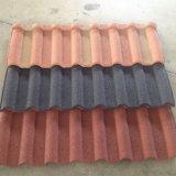 中国の製造者の石によって塗られる鋼鉄屋根瓦の屋根瓦の製造