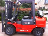 3 tonnellate LPG&Gasoline Forklift Truck per il Giappone Nissan Engine