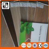 Plancher commercial imperméable à l'eau de planche de vinyle d'utilisation