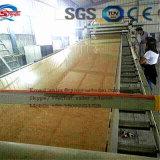 A linha de produção linha da placa da máquina da placa da decoração do PVC da extrusão do PVC da máquina da extrusão da placa recicl o uso do desperdício do mármore para fazer a folha