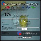Adição concreta misturada pronta PCE de 50% Polycarboxylate Superplasticizer (retenção da queda)