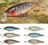 88mm coulant d'une première le prix bon marché usine --- La qualité a fait Crankbait de pêche en plastique dur fait sur commande - Wobbler - attrait de pêche de Popper de cyprins