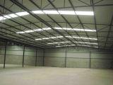 Edificio d'acciaio chiaro di Structrual/magazzino galvanizzato della struttura d'acciaio
