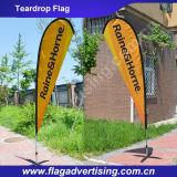 C'è ne progettano la bandiera su ordinazione disponibile della bandierina di spiaggia, bandiera della visualizzazione