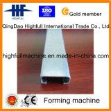Perfil de la correa de la hoja de metal C que hace el rodillo que forma la máquina
