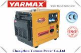Yarmax Hersteller! Heißer Verkauf! Spitzenverkaufs-elektrisches Anfangsleiser Dieselgenerator 6kVA, Soem