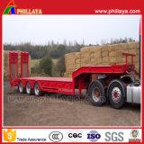 3 Aanhangwagen van het Nut van het Bed van assen de Lage Semi voor Cargos