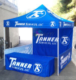 Tente d'affichage de promotion de gazebo de haute qualité personnalisée à l'extérieur avec toit imprimé