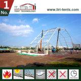 de Brand van de Tent van de Sporten van de Veelhoek van de Hoogte van 15m - het Beweegbare Tijdelijke Stadion van de vertrager voor Zwembad