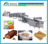 Automatischer Süßigkeit-Produktionszweig für indischen Sesam, Schokoladen-Beschichtung-Produkt, Nugat, Milch-Süßigkeit, Sugus, quadratische Form-Süßigkeit