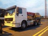 6*4 de Vrachtwagen van de Tractor van de Aanhangwagen HOWO
