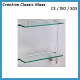 mensole di vetro moderne di 5~10mm nell'acquazzone della stanza da bagno tagliato al formato