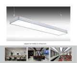 Uispair Modern Office 8W en acier à base d'aluminium alliage LED pendentif lampe suspension