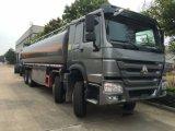 Carro del tanque de agua de Sinotruk HOWO 8X4 con el volumen 30000liers