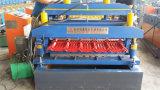 Крен двойного слоя плитки гидровлического цвета стальной формируя машину