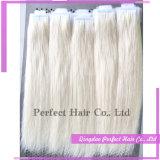 毛の拡張のRemyインドのテープ
