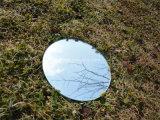 Polished redondo de 6m m/biseló el espejo de la hebra de los bordes para la decoración