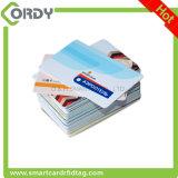 A cor cheia prined o cartão pré-imprimido T5577 chave do cartão RFID do hotel