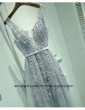 Платье выпускного вечера партии вечера Tulle V-Шеи женщин безрукавный