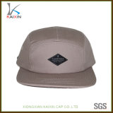Logotipo personalizado Plain Blank Cotton Non estruturado 5 Panel Hat