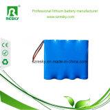 paquete de la batería de 2s2p 18650 5200mAh 7.4V para el vehículo eléctrico