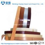 Lipping Borde plástico para bandas Cubiertas certificado por ISO9001