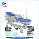 Carro de traslados de emergencia para enfermeros de primeros auxilios