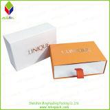 Cadre de bijou personnalisé de cadeau de papier de type de tiroir