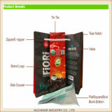 プラスチックおよび透過コーヒーパッケージ袋か黒いジップロック式のコーヒー豆袋