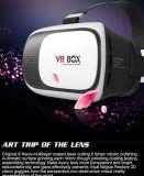 Realtà virtuale della più nuova casella di Vr/vetro di Google con il regolatore di Bluetooth