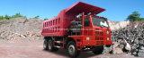 판매를 위한 Sinotruk 40 톤 HOWO 전사 광업 쓰레기꾼 트럭