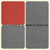 Cuir durable de PVC de qualité classique de modèle pour le sofa (DS-A904)