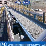 Bande de conveyeur en acier en caoutchouc de cordon de renfort transversal